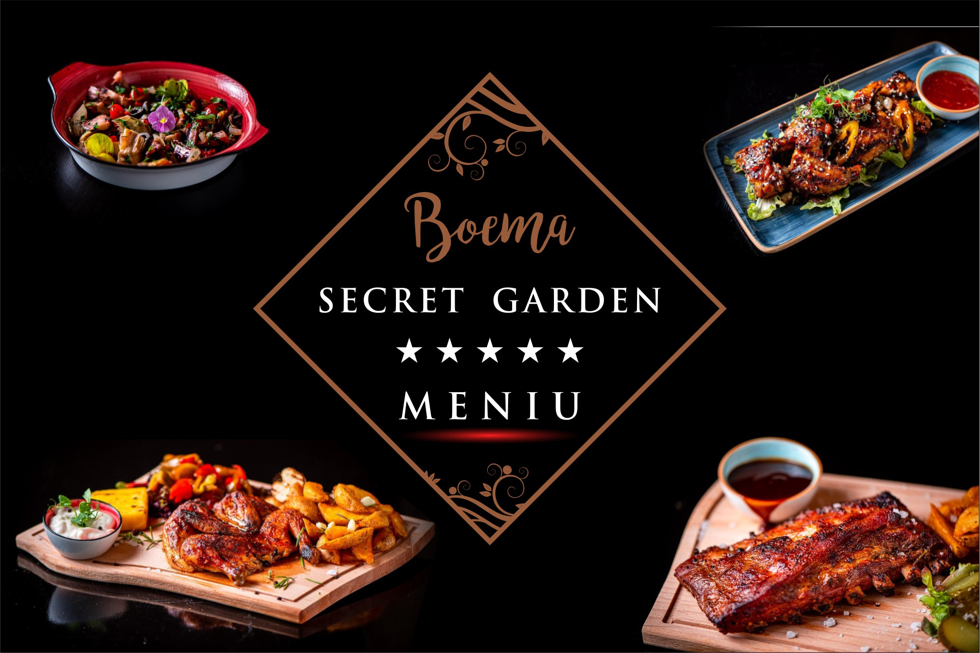 Poze Meniu Restaurant Secret Garden